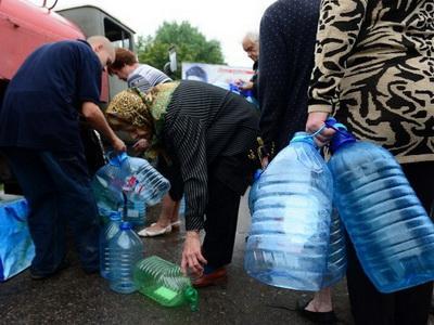 Для жителей Калининского района Донецка будет организован подвоз воды
