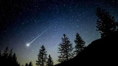 Украинцы смогут увидеть метеоритный дождь