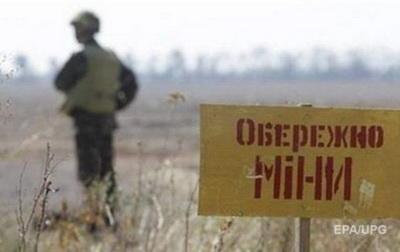 Боевики минируют Донбасс минами российского производства