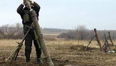 На Луганщине украинские военные попали под плотный минометный огонь у Майского и Новозвановки