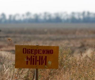 На Донбассе мирный житель подорвался на мине