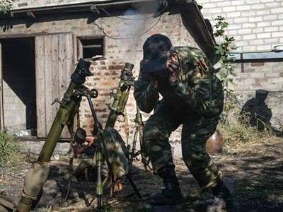 Боевики опять обстреливают Травневое (Майское)