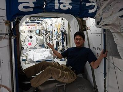 Японский астронавт вырос на 9 см за три недели на борту МКС