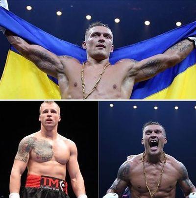 Бокс: Усик одержал трудную победу