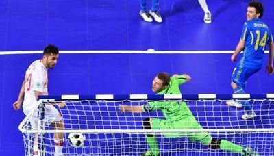 Украина уступила Испании в четвертьфинале Евро-2018 по футзалу