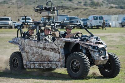 В США презентовали армейский электроджип