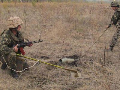 Саперы обезвердили на Донбассе более 5 тысяч смертоносных предметов