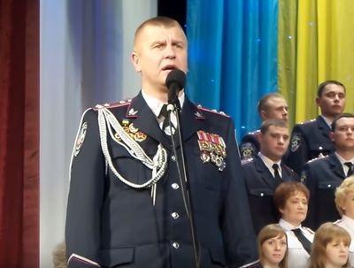 Главный полицейский Донетчины: Споем, когда Донецк и другие украинские города, которые сейчас оккупированы, будут освобождены