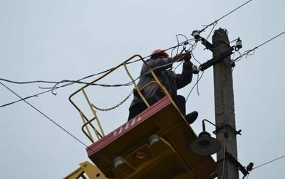 В Луганской области без света остались почти 4000 домов
