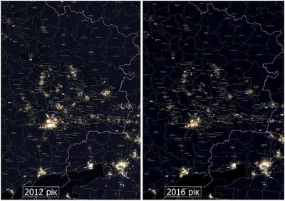 Российская оккупация погрузила Донбасс во тьму