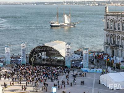 В Лиссабоне прошла церемония открытия Евровидения