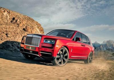 Rolls-Royce презентовал свой первый внедорожник (ВИДЕО)