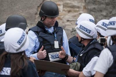 В ОБСЕ насчитали около 100 взрывов на Донбассе