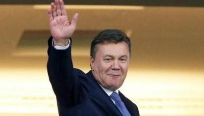 "Беглый Янукович ""засветился"" на матче Россия — Испания"