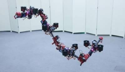 Летающий дракон: в Японии разработали уникального робота