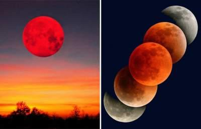 Жители Земли увидят кровавую Луну и великое противостояние Марса