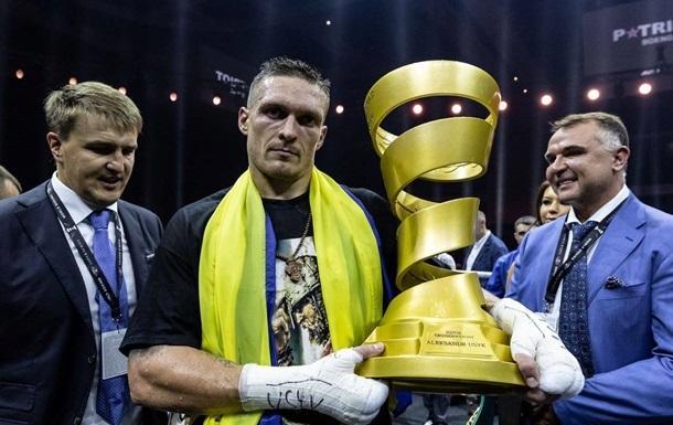Усик прокомментировал идею присвоения ему звания Героя Украины