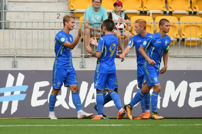 Сборная Украины U-19 вышла в полуфинал Евро-2018