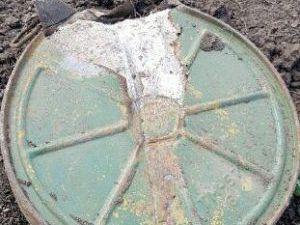 В Мариуполе во время полевых работ тракторист наткнулся на мину