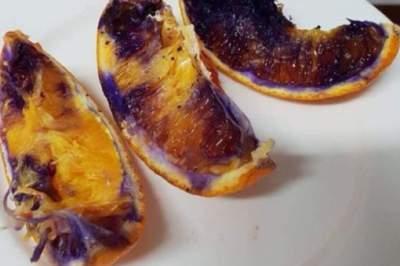 Раскрыта загадка фиолетового апельсина