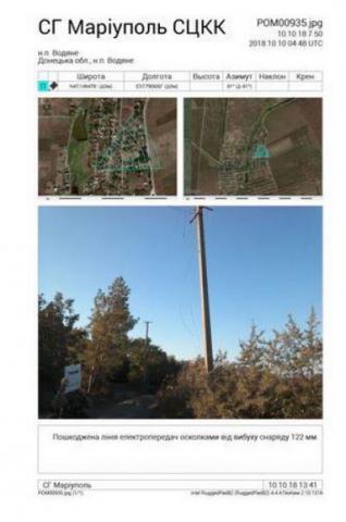 На поселок на Донетчине упало 12 снарядов: повреждены дома и хозпостройки