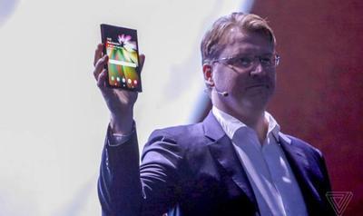 "Samsung представила прототип ""гибкого"" смартфона (ВИДЕО)"