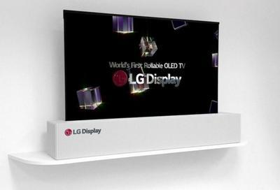 LG представила складной телевизор (ВИДЕО)