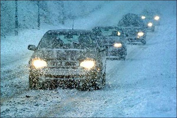 Из-за непогоды перекрыта трасса Мариуполь - Бердянск