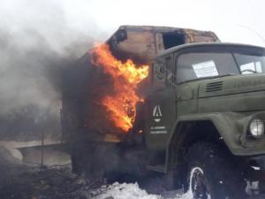 Трое пострадавших: машина компании «Вода Донбасса» попала под обстрел