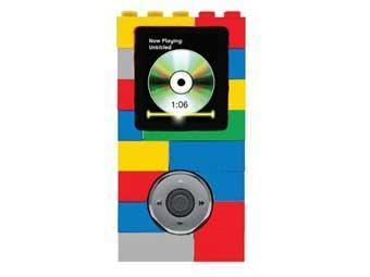 Дизайн цифрового аудиопроигрывателя будет выполнен по образцу классического конструктора Lego.