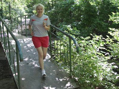 Марина Симонова: «Пробежка по утрам здорово поднимает настроение и улучшает самочувствие!»
