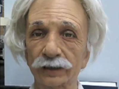 Робота-Эйнштейна научили улыбаться